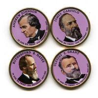 """США набор 2011 президенты США ЦВЕТНЫЕ """"золотые доллары"""" UNC"""