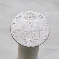Пруссия 4 грошена 1801 м.д.Берлин