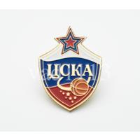Значок БК ЦСКА Москва