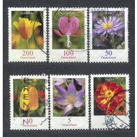 Флора. Цветы. Германия. Серия 6 марок