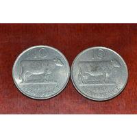 Гернси 10 пенсов 1968