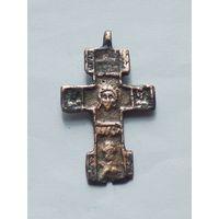 Крестик с образом Спаса Нерукотворного