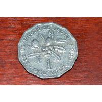Ямайка 1 цент 1980