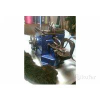 Скорняжная машина с бытовым электродвигателем для  меха овчины кожи