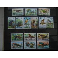 Марки - Сент Винсент и Гренадины, фауна, птицы