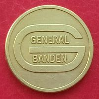 Парковочный жетон General Banden (БЕЛЬГИЯ) -малый размер 17,5 мм