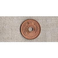 Нигерия 1/2 пенни 1959 /блеск/редкая/FV/