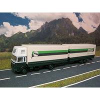 Модель грузового автомобиля MAN (17). Масштаб НО-1:87.