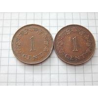 Мальта 1 цент 1977 (цена за монету)