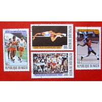 Нигер. Спорт. ( 4 марки ) 1980 года.