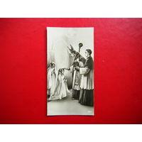 Миниатюрная открытка 3 дня до конца войны. 6 марта 1945г.