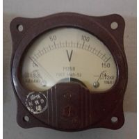 Вольтметр М 358, 1958 г., 0-150V