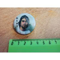 Курт Кабейн з Nirvana / Курт Кобейн с Nirvana - стары значак