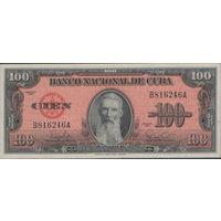 Банкнота 100 pesos 1959 Cuba