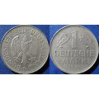 ФРГ, 1 марка 1975 F. монетный двор Штудгарт