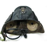 Шлем лётчика ВС СССР зимний с наушниками