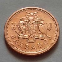 1 цент, Барбадос 2011 г., UNC