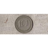 Южная Корея 100 вон 1982 /(D)
