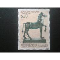 Франция 1996 бронзовая скульптура