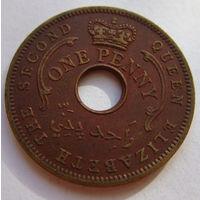 Нигерия 1 пенни 1959 г