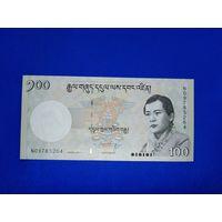 Банкноты мира. Бутан, 100 нгултрум