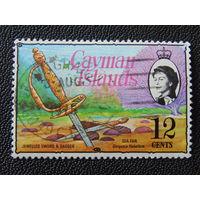 Британские Каймановы острова 1974 г.