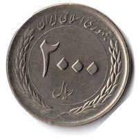 Иран. 2000 риалов. 2010 г. 50 лет Центральному банку Ирана