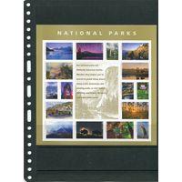 США. Национальные парки, малый лист
