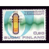 1 марка 1977 год Финляндия 806