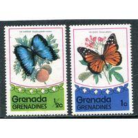 Гренада - Гренадины. Бабочки