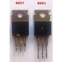 2SB857 pnp + 2SB861 pnp