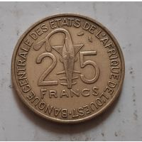25 франков 1971 г. Западная Африка