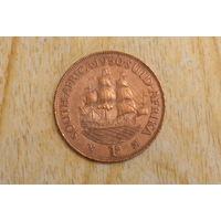 Южная Африка 1 пенни 1950