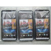 Бампер для HTC ONE M7, силиконовый, новый.