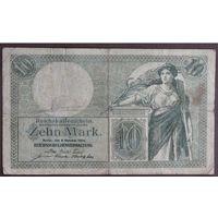Германия, 10 марок 1906 год.