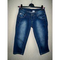 Капри джинсовые, Новые, р. 44 (S-M)