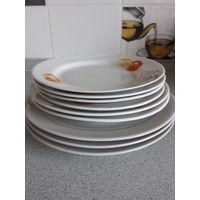 Тарелка Тарелки 10 шт Посуда