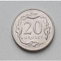 Польша 20 грош 2017