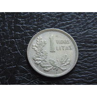 Литва 1 лит 1925 год.