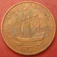 5949:  1/2 пенни 1967 Британия