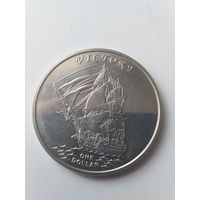 Острова Гилберта 1 доллар 2014 года Виктори