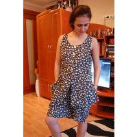 Костюм шорты и блуза