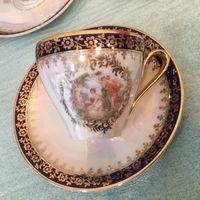 Чашка с блюдцем (кофейная пара) Мадонна, Германия