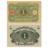 Германия. 1 марка 1920 г. aUNC [P.58]