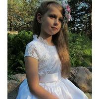 Нарядное платье для девочки р.128,134,140