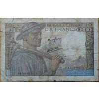 10 франков 1943 г. Р99b