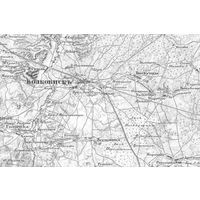 Старая карта 1850 вся Беларусь GPS