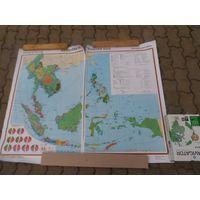 """Карта """" Юго-Восточная Азия"""""""