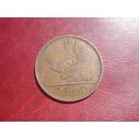 1 пенни 1965 года Ирландия