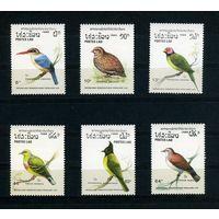 Лаос 1988г. птицы, 6м.